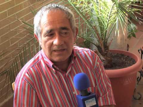 Gómez Parra en una entrevista