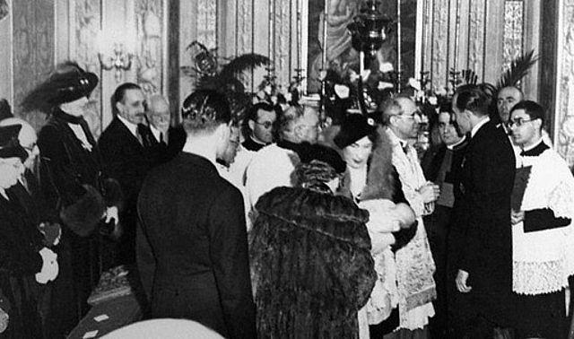 Bautizo de Juan Carlos de Borbón