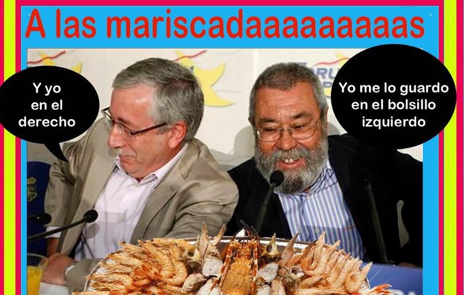FernándezToxoy CándidoMéndez y las mariscadas