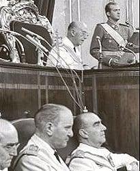 Franco, el Rey y Carrero Blanco