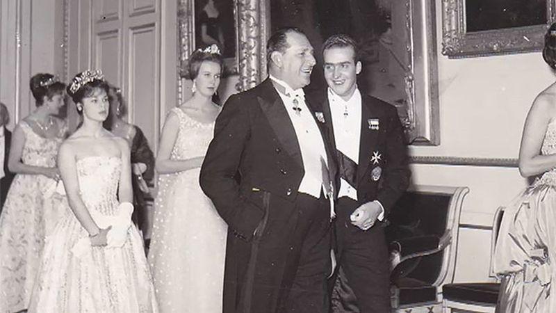 Juan y Juan Carlos de Borbón