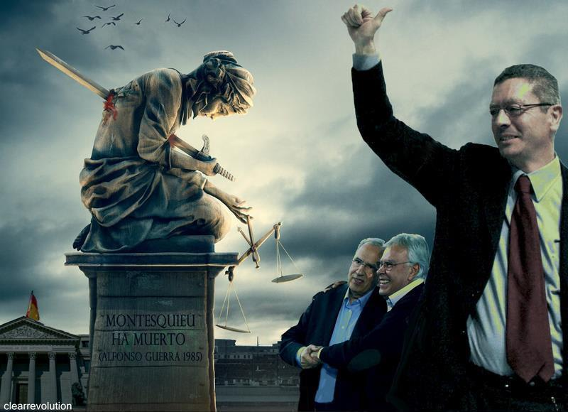 Montesquieu ha muerto