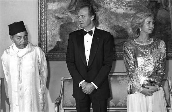 Juan Carlos y Hassan II