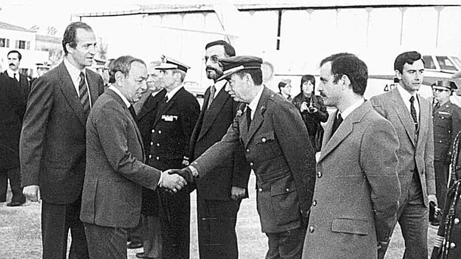 Juan Carlos de Borbón y Hassan de Marruecos