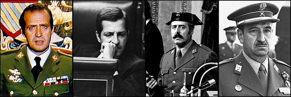 Adolfo Suárez y el teniente coronel Antonio Tejero