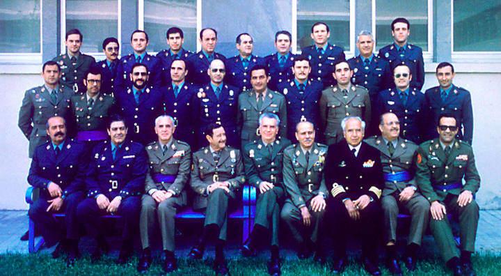 Militares procesados el 23F en la cárcel