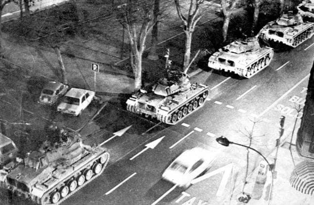 Tanques valencia 23F