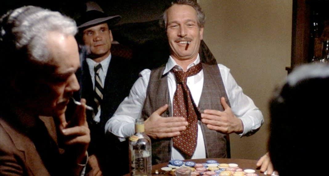 """Fotograma de la película """"El golpe"""", de George Roy Hill -1973- (título original: """"The sting"""" -""""El timo""""-)"""