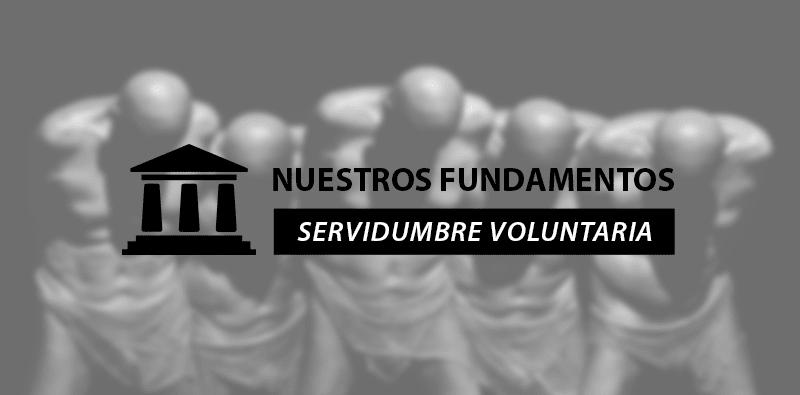 Servidumbre voluntaria - Diario Español de la República Consitucional