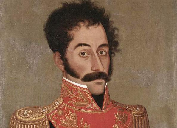 Simón Bolívar por José Gil de Castro