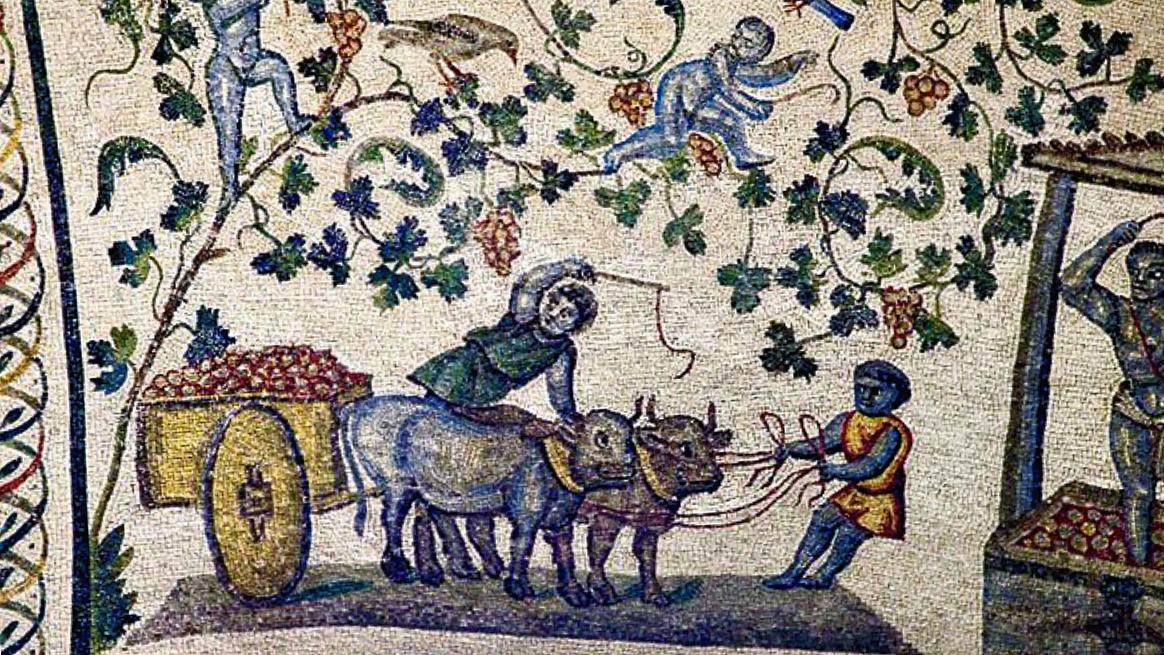 Mosaico romano. Colonato y colonialismo