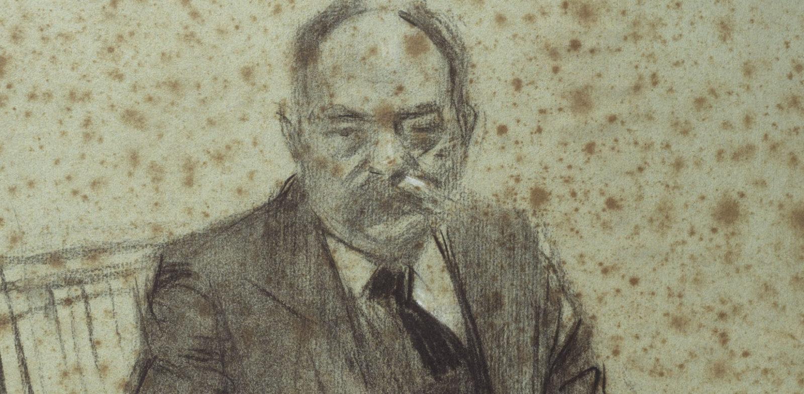 Valenti Almirall por Ramón Casas