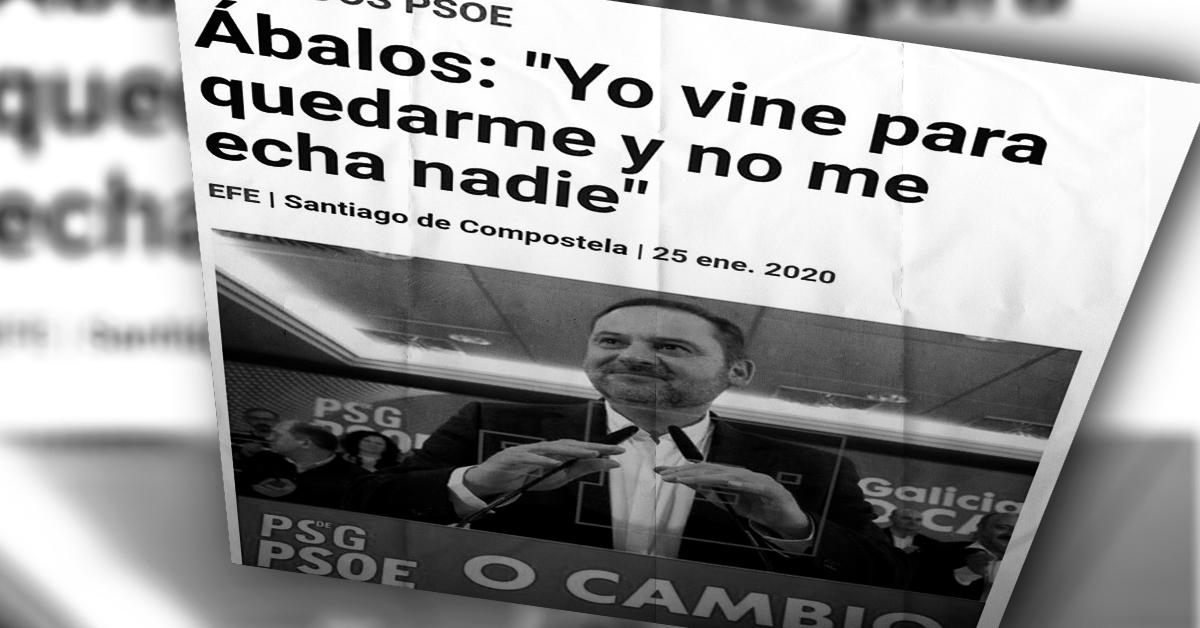 El chulo del Estado, Iván Ábalos