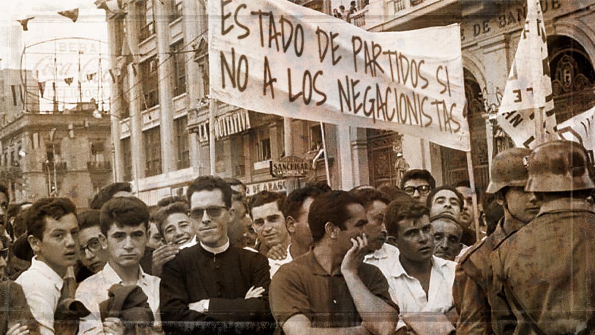 Contubernio de Munich contra el dictador Franco y hoy de los abstencionarios contra el Estado de partidos