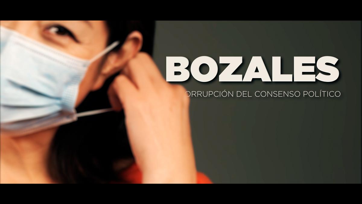 Bozales y corrupción política en España